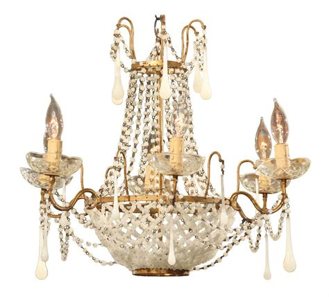 glass bead chandelier italian glass bead chandelier at 1stdibs