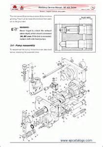 massey ferguson tractors 400 series repair manual heavy technics repair