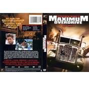 COVERSBOXSK  Stephen King\s Maximum Overdrive 1986