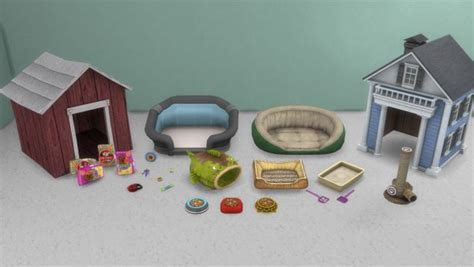 Enure Sims: Cats and Dogs Stuff ? Sims 4 Downloads