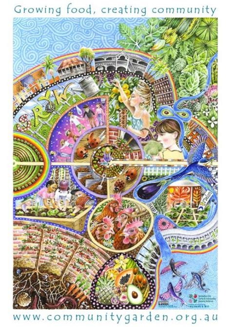 flourishing together cultivating a fruitful in books new community gardens poster free milkwood