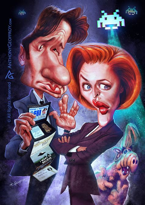 Joe 96 Carvil mulder and scully and alf by anthonygeoffroy on deviantart