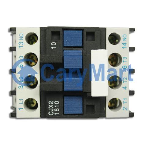 ac 110v or 220v or 380v contactor motor starter relay 3