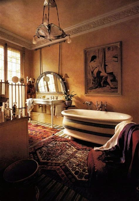 Bohemian Style Bathroom by Bohemian Style Bath Best Furniture Ideas For The