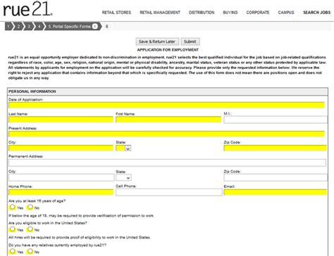 printable job applications for rue 21 rue 21 career guide rue 21 application job application