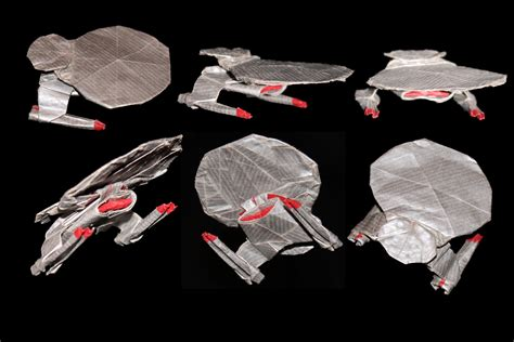 Trek Origami - nebula vs galaxy class pics about space