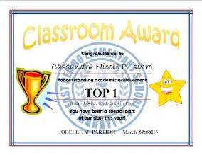 top 10 cert amp subject achiever template samples deped lp s
