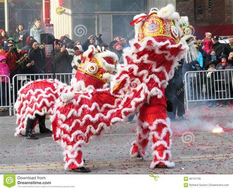 new year celebration washington dc pair of lions editorial image image 66747795
