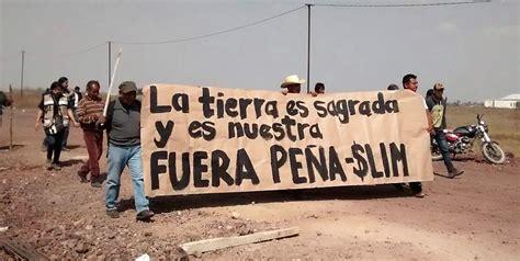 en defensa de las carta abierta del frente de pueblos en defensa de la tierra atenco a carlos slim almomento mx