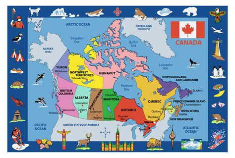 100 Canada Map Coloured Explorer - rugs funtime map of canada rugs ft 132