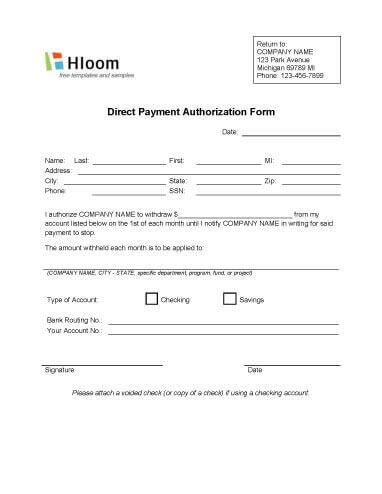 automatic credit card payment authorization form template credit card authorization forms hloom