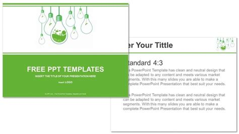 templates powerpoint ecology ecology concept business powerpoint templates