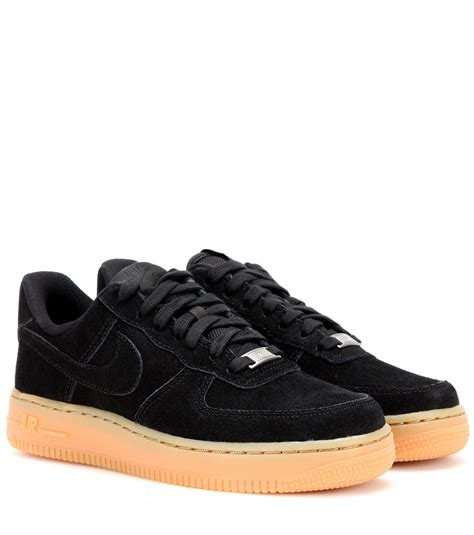 Nike Sneakers 1 nike air 1 suede sneakers in black lyst