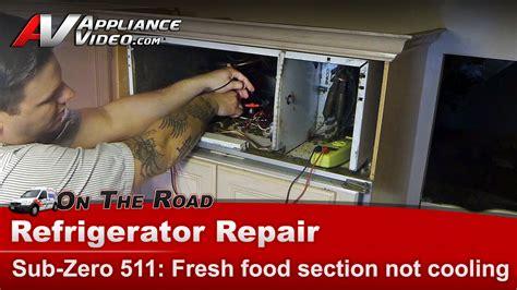 refrigerator diagnostic  cooling