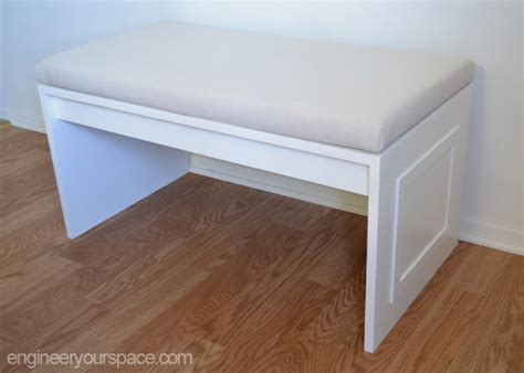 diy bench with cushion diy no sew bench cushion smart diy solutions for renters