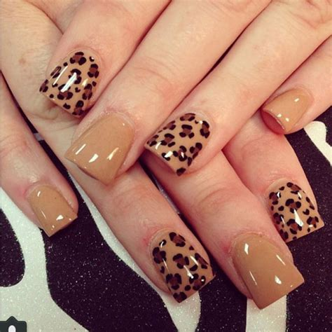 easy nail art cheetah 21 wild leopard print nail designs for 2016 jewe blog