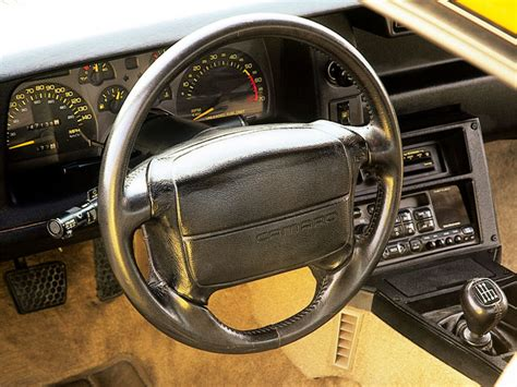 1992 camaro interior 1991 92 camaro steering wheel third generation f