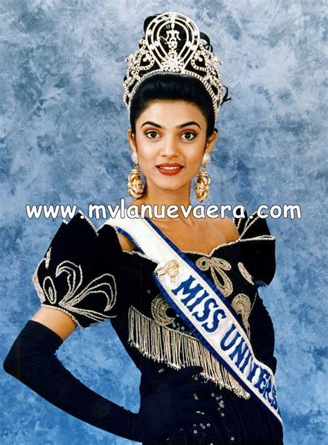 sushmita sen miss universe black aquini miss universe 1994 sushmita sen offical pic s