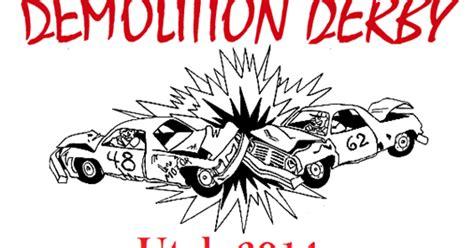 coloring pages demolition derby cars enjoy utah utah demolition derbies 2014