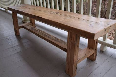 custom wood benches 25 best ideas about reclaimed wood benches on pinterest diy wood bench diy bench