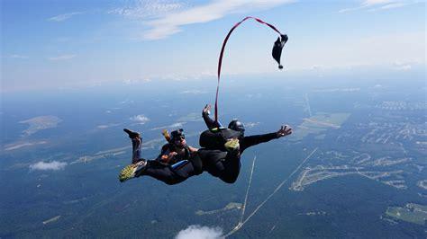 parachute dive comprehensive learn to skydive programs skydive paraclete xp
