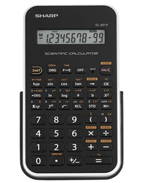 calculator edge sharp electronics el 501xbwh engineering scientific