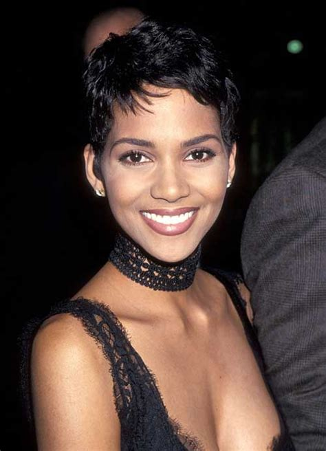 20 Halle Berry Pixie Haircuts   Pixie Cut 2015