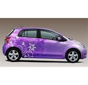 Purple Toyota Yaris  Picture