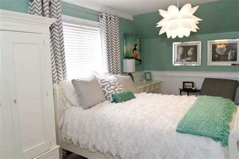 mint green room teen room makeover contemporary kids cincinnati by