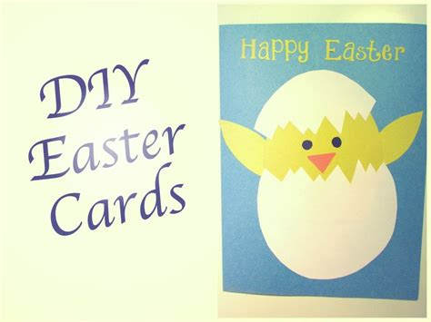free easter cards to make diy easter cards bronwen