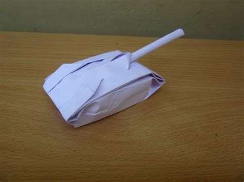 easy origami tank how to make a paper tank easy tutorials