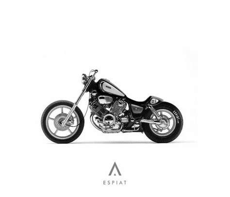 Motorrad Yamaha Virago 1100 by Xv 1100 Bobber Umbau Japan Style Mit Caferacer Heck Espiat