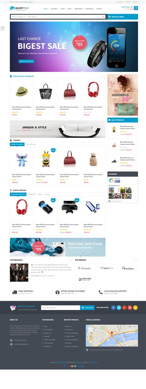 wordpress themes free download for online shopping shopping a premium ecommerce wordpress theme free download