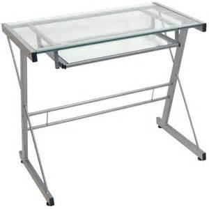 Buy Glass Computer Desk Buy The Walker Edison Td31s29 Glass Computer Desk At Tigerdirect Ca