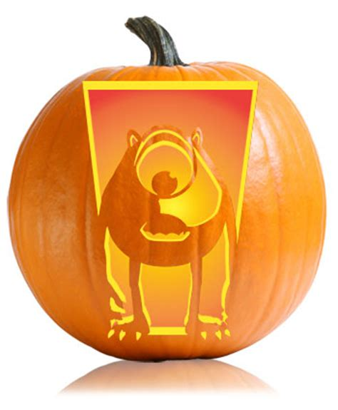 mike wazowski pumpkin carving template mike wazowski pumpkin pattern