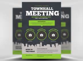 Community Template by Community Meeting Flyer Template Flyerheroes