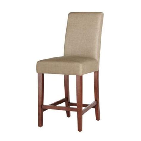 parson bar stool home decorators collection brexley parson chestnut counter