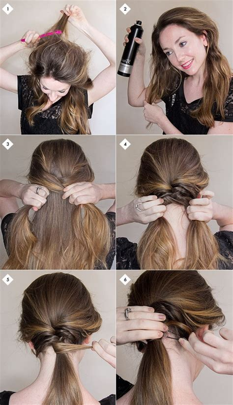 step by step easy updos for thin hair curly hairstyles step by step newhairstylesformen2014 com