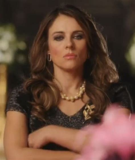 Drama In Liz Hurleys by Liz Hurley Takes The Reigns In The Official Trailer