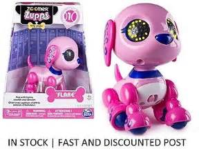 zoomer zuppies tiny puppy new my magical seahorse pink purple zuru robo swimming sea 163 7 99