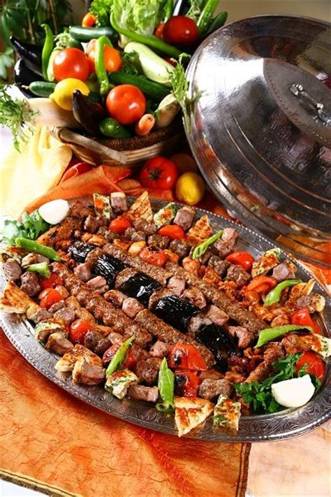 traditional turkish food traditional turkish food kebab and appetising one