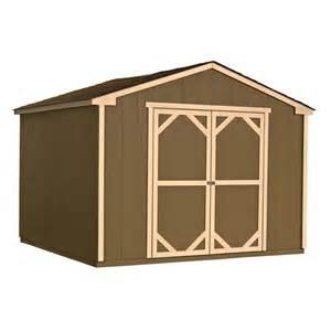 heartland liberty ii 10 ft x 8 ft wood storage shed lowe