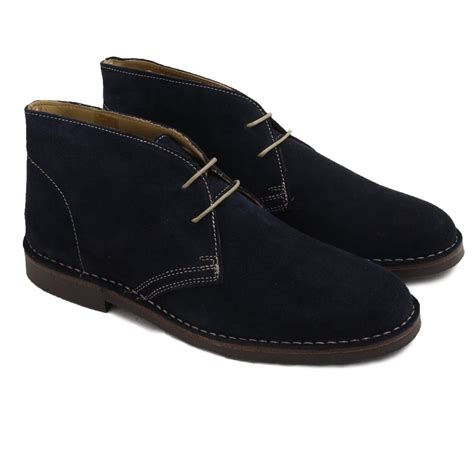 loake mens boots loake navy suede mens boot loake from shoes uk