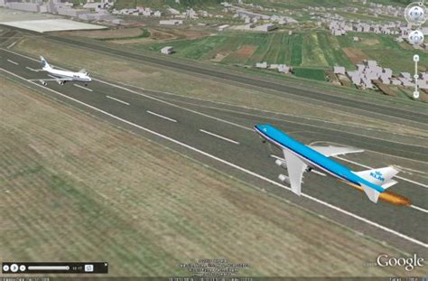 airport design editor google earth amazing tour of the 1977 tenerife airport disaster