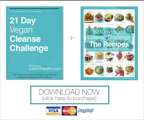 21 Day Vegan Detox by The Best 21 Day Vegan Cleanse