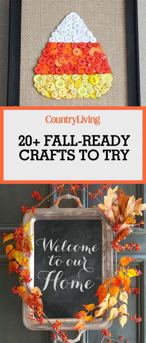diy crafts for fall 25 best fall crafts easy diy home decor ideas for fall