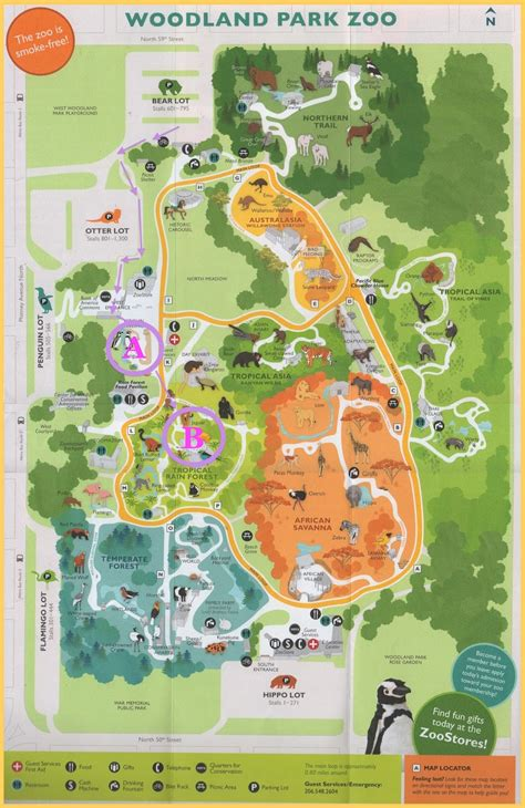 seattle zoo map randuwa redux the woodland park zoo part 2