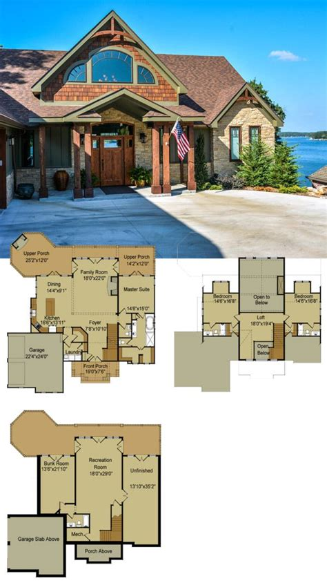 Best 25 Lake House Plans Ideas On Pinterest Cabin Floor Best Floor Plan For Lake House