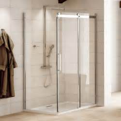 Shower Door 900 1200 X 900 Aquafloe Elite Ll 8mm Sliding Shower Enclosure