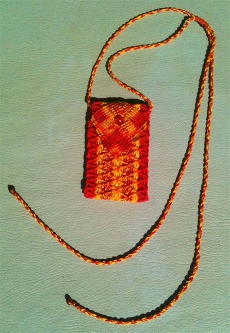 Macrame Pouch Pattern - 50 best images about macrame bags pouches on